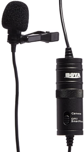 Boya BY-M1 is an affordable means to get good audio quality during an online training or coaching live stream